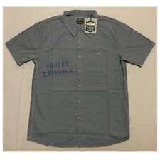 TRUNK LTD Harley Davidson Grease Monkey Work Shirt Retail $125 (NWT)