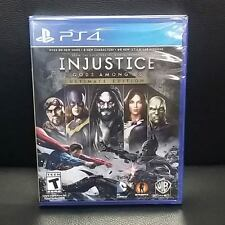 Injustice Gods Among Us Ultimate Edition PS4 Game English, Portuguese, Spanish