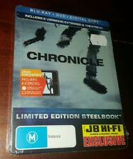 *New & Sealed* Chronicle - Limited Edition Steelbook Blu Ray + DVD Rare Aus