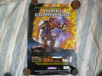 TIME COMMANDO ACTIVISION VIDEO GAME  POSTER