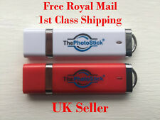 ThePhotoStick 64gb,128gb & 256gb - Easy Photo and Video Backup and Organiser