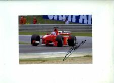 Mika Salo Ferrari F399 Austrian Grand Prix 1999 Signed Photograph 3