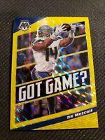 🔥DK Metcalf 2020 NFL Panini Mosaic Gold Prizm 7/20 Seahawks Got Game🔥 PSA 10?!