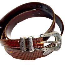 PGA Tour Danbury Accessories Leather Belt Western Style Mens Size 44