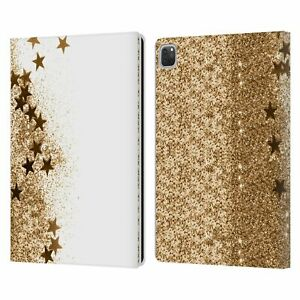 MONIKA STRIGEL SHAKY STARS LEATHER BOOK WALLET CASE COVER FOR APPLE iPAD