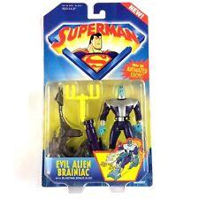 Superman Animated Evil Alien Brainiac Action Figure 1996 Sealed
