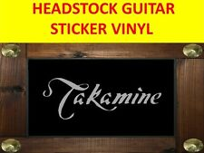 TAKAMIN SILVER STICKER HEADSTOCK GUITAR VISIT OUR STORE WITH MANY MORE MODELS