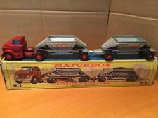 Matchbox Lesney King Size K4 GMC Fruehauf Hopper Train VNMIB