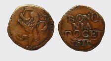 BOLOGNA - PAOLO V 1605-1621 -AE/ QUATTRINO 1612