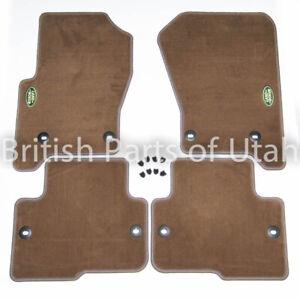 Land Rover LR3 LR4 Carpet Floor Mat Mats BEIGE Genuine OEM Factory 2005~ 2016