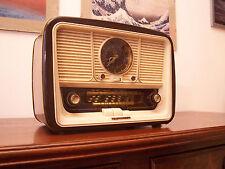ANTICA_RADIO Telefunken Jubilate Uhr Alarm clock Tube Radio Tuberadio Restored