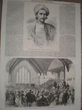 Abyssinia Expedition Meer Akbar Ali & Farningham Home for Little Boys 1868 print