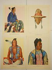 "Blackfeet Tribe of Glacier National Park 24-12"" x 9"" Prints + Book 1940"