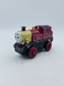 Thomas And Friends Motorized Diecast Lady Train Take Along 2002  works