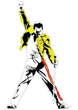 Freddie Mercury Queen A3 YF229 impresión de arte cartel