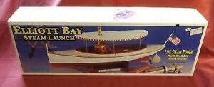 "ELLIOT BAY STEAM LAUNCH by MIDWEST PRODUCTS AFRICAN QUEEN 25 1/4"" LENGTH"