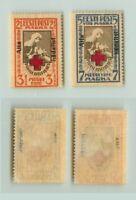 Estonia 1923 SC B11-B12 mint . f3187