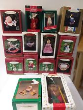 Lot of 14 ~(12pcs) Hallmark Keepsake Ornaments - (1)House of Lloyds (1) Mouse