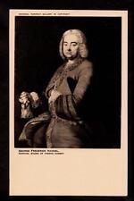 London National portrait gallery  G.F.Handel composer Germany postcard