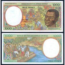 CENTRAL AFRICAN REPUBLIC ( C. A. S. ) 1000 Francs 1999 UNC Pick 302F f