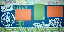 "Ticket To Ride Scrapbook Layout Kit (Two 12""x12"" pages)"