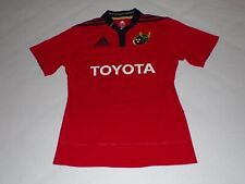 MUNSTER RUGBY UNION JERSEY SHIRT WITH A SIGNATURE  ,MENS SMALL