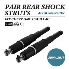 Pair Rear Air Suspension Strut Shocks fit Chevy For GMC Cadillac Escalade