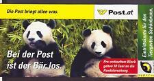 REPUBLIK ÖSTERREICH 2003 BLOCK PANDA BÄR Block POST-FOLDER Ersttag + 1x Postf.