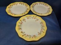 Vintage Better Homes And Gardens Tuscan Retreat Set/3 Dinner Plates Retired 2011
