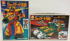 SUPER ROBOT MACH BARON : RED YELLOW & GREEN YELLOW ROBOT MODEL KITS