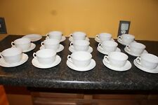 COALPORT Countryware Bone China: Lot of 14 Coffee / Tea Cup & Saucer sets.