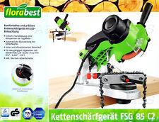 FLORABEST Kettenschärfgerät FSG 85 C2 präzises Schärfen inklusive LED NEU