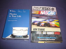 Teaching Co Great Courses DVDs           PHYSICS IN YOUR LIFE     new + BONUS
