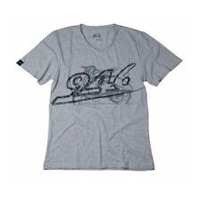 Vespa 946 Mens Tee Casual Wear T-Shirt Grey With 946 Logo New