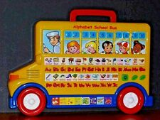 Alphabet School Bus - Interactive Learning Tool for Young Children, Preowned