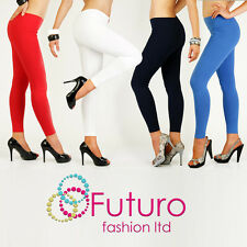 Full Length Warm Thick Cotton Leggings Winter Style All Sizes 8 - 22 P28