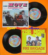 LP 45 7'' THE MOVE Blackberry way Fire brigade 1999 PEACE & LOVE cd mc dvd