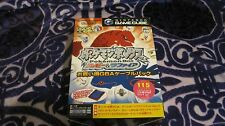 POKEMON BOX RUBY SAPPHIRE NINTENDO GAME CUBE GAMECUBE JAPAN MEMORY CARD COMPLETE