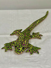 "RARE 15"" HAND MADE BEAN BAG IGUANA IMPORTED FROM GUADELOUPE"