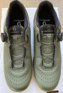Scott Mens MTB Sport Volt Cycling Shoes green moss/black Us 11 Eu45 New No Box