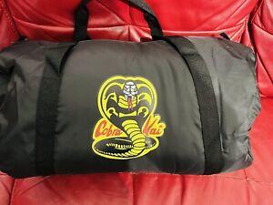 Cobra kai Gym Bag Karate Taekwondo MMA Boxing Body Building  Weight Training