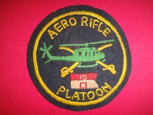 US D Troop 10th Cavalry Regiment AERO RIFLE PLATOON  Vietnam War Hand Sewn Patch