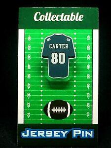 Philadelphia Eagles Cris Carter jersey lapel pin-Classic vintage Collectable