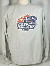 Reebok GREY CUP Winnipeg 94th. 2006 SWEATSHIRT, XXL Football New with tags!