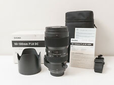 Sigma 50-100mm F1.8 DC HSM Art Lens for Nikon DX Cameras ~As New ~$981 with code