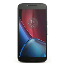 New Motorola Moto G4 Plus XT1641 Dual SIM GSM Unlocked 32GB 16MP Phone Black