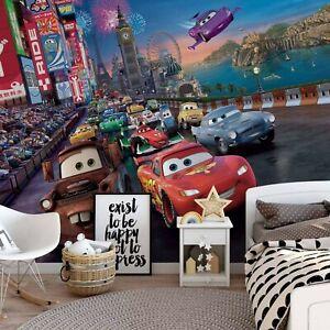 Photo wallpaper Disney Cars chlildren's bedroom wall mural giant poster style