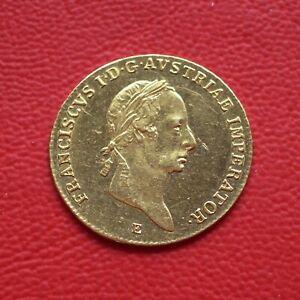 RR! 1 Dukat Österreich 1830 E ss/vz / Franz II (I) / Gold / SELTEN! KM#2171