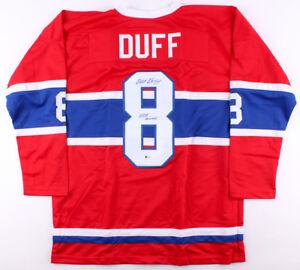 "Dick Duff Signed Montreal Canadiens Jersey Inscribed ""HOF 2006"" (Beckett COA)"