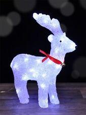 LED Rentier Weihnachtsdeko beleuchtet Weihnachten Deko Leuchtfigur Acryl